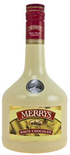 Merrys White Chocolate Cream 750ml